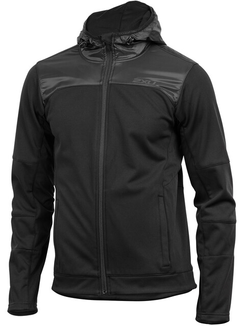 2XU M's Heat Membrane Hooded Jacket black/black